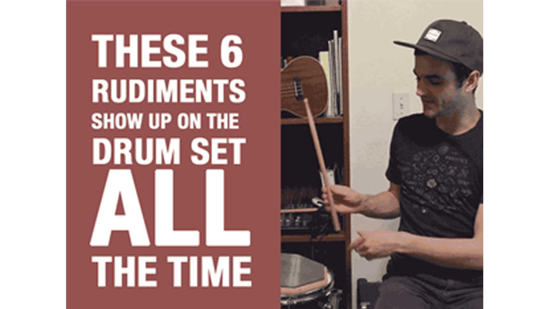 6 Essential Drum Rudiments